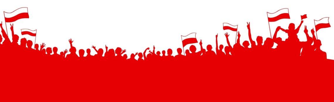 Grafika biało-Czerwona mała