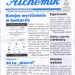 Pierwsza strona czasopisma Alchemik