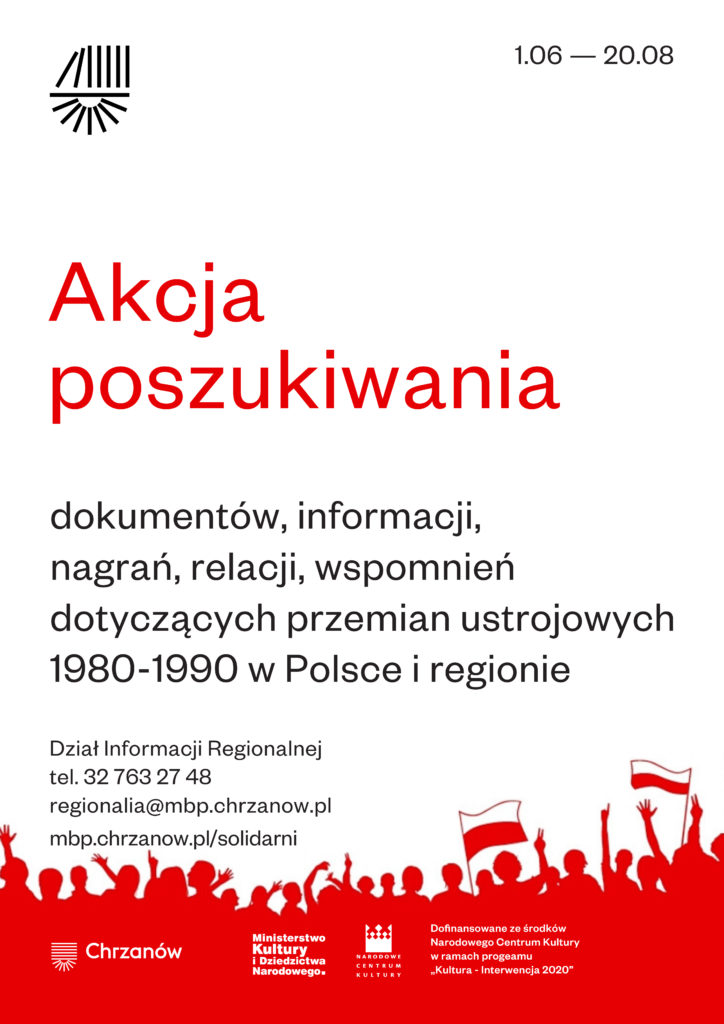 Solidarni w niepodległości - plakat